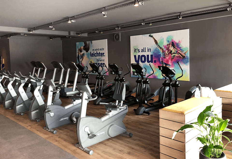 Cardiobereich im redfit fitness & sports Garrel